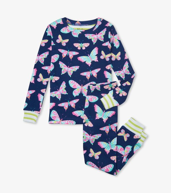 Delightful Butterflies Organic Cotton Pajama Set