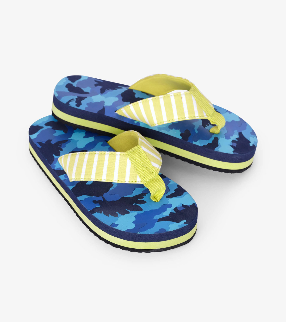 View larger image of Dino Camo Flip Flops