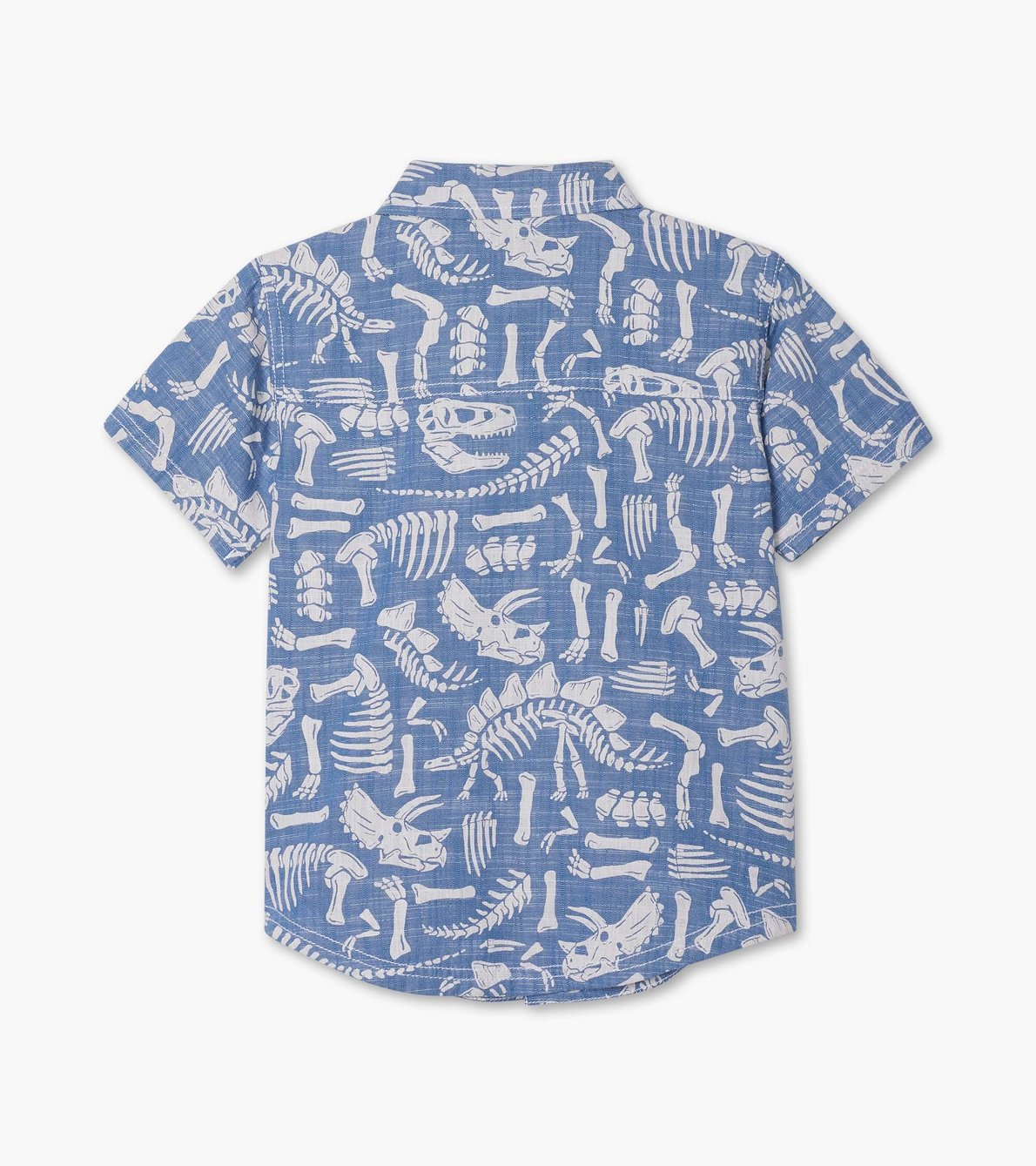 View larger image of Dino Fossils Short Sleeve Button Down Shirt