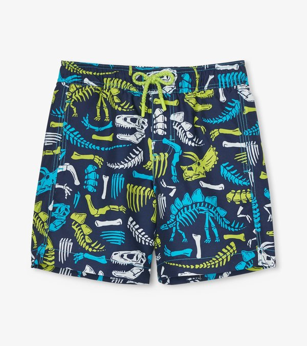 Dino Fossils Swim Trunks