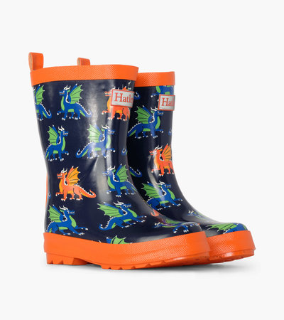 Dragons Shiny Rain Boots