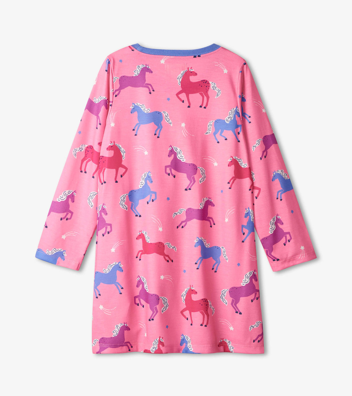 View larger image of Dreamy Horses Long Sleeve Nightdress