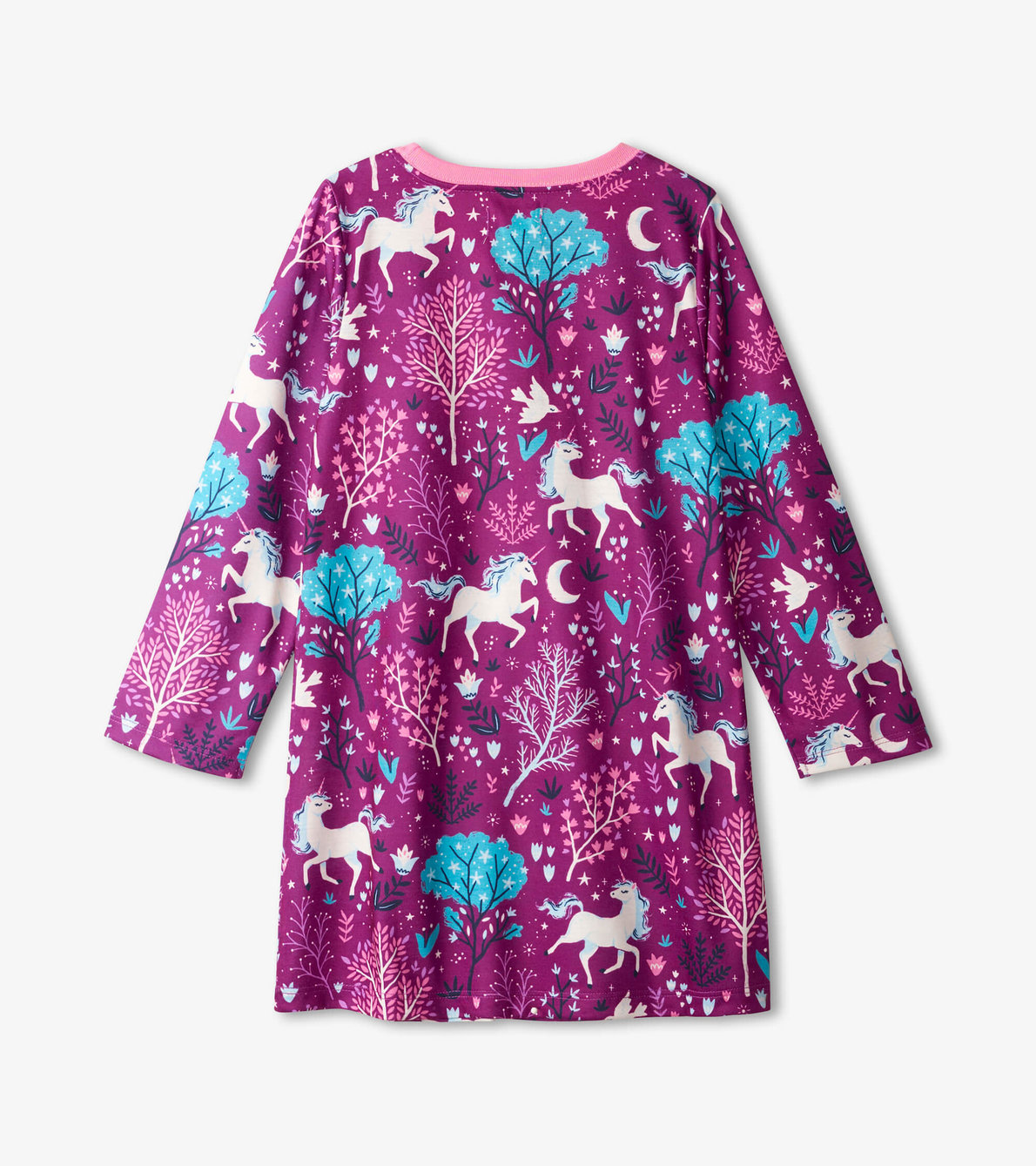 View larger image of Enchanted Forest Long Sleeve Nightdress