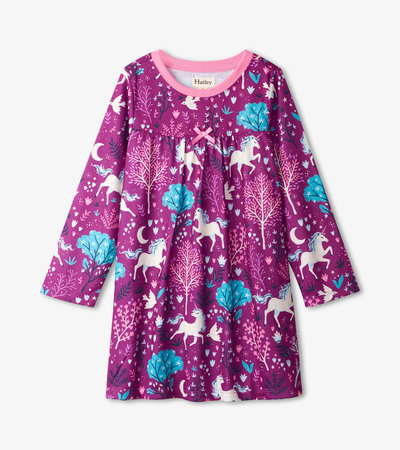 Enchanted Forest Long Sleeve Nightdress