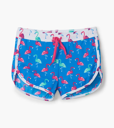 Fancy Flamingos Swim Shorts