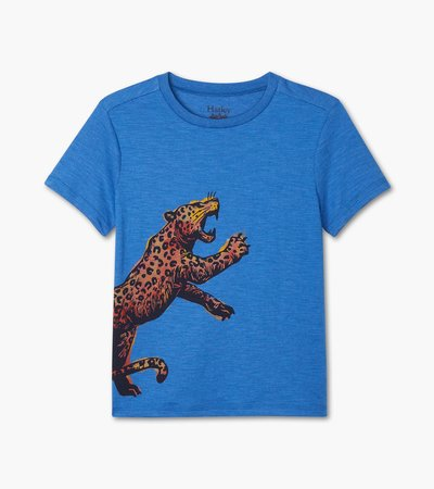 Ferocious Leopard Graphic Tee