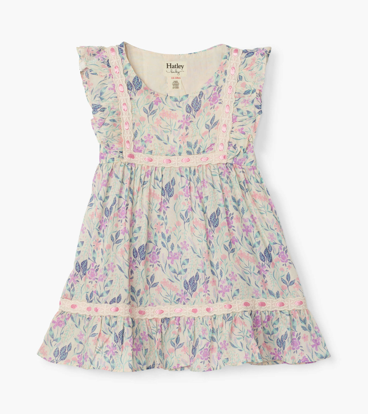 View larger image of Floral Baby Party Dress