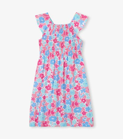 French Garden Smocked Dress