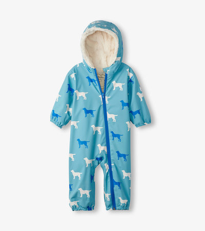 Friendly Labs Sherpa Lined Colour Changing Baby Bundler