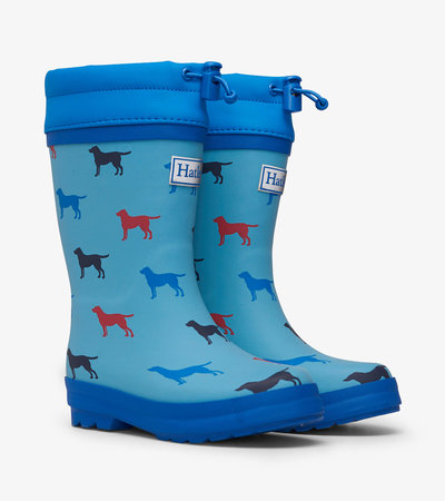 Friendly Labs Sherpa Lined Rain Boots