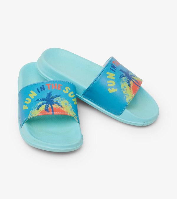 Fun In The Sun Slide On Sandals
