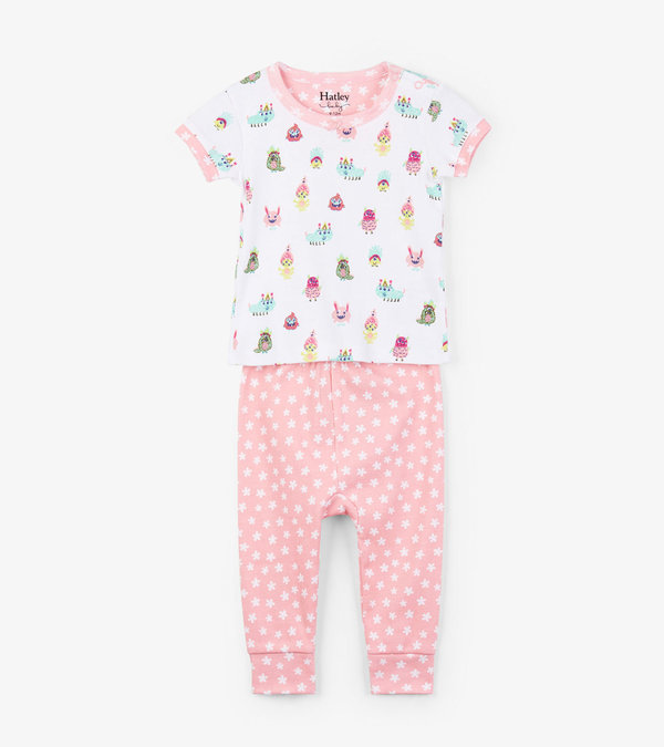 Funny Creatures Baby Pajama Set