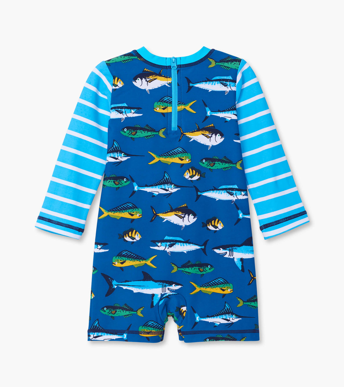 View larger image of Game Fish Baby Rashguard One-Piece