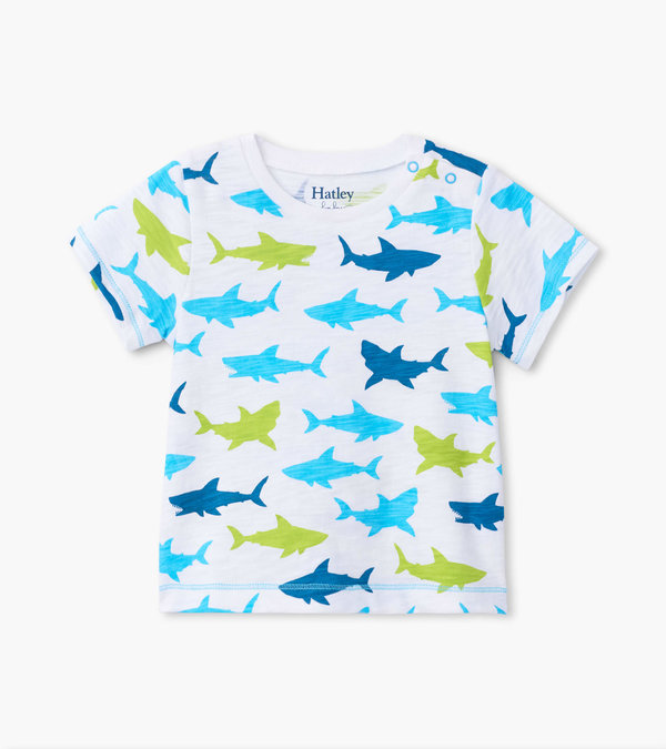 Great White Sharks Baby Graphic Tee