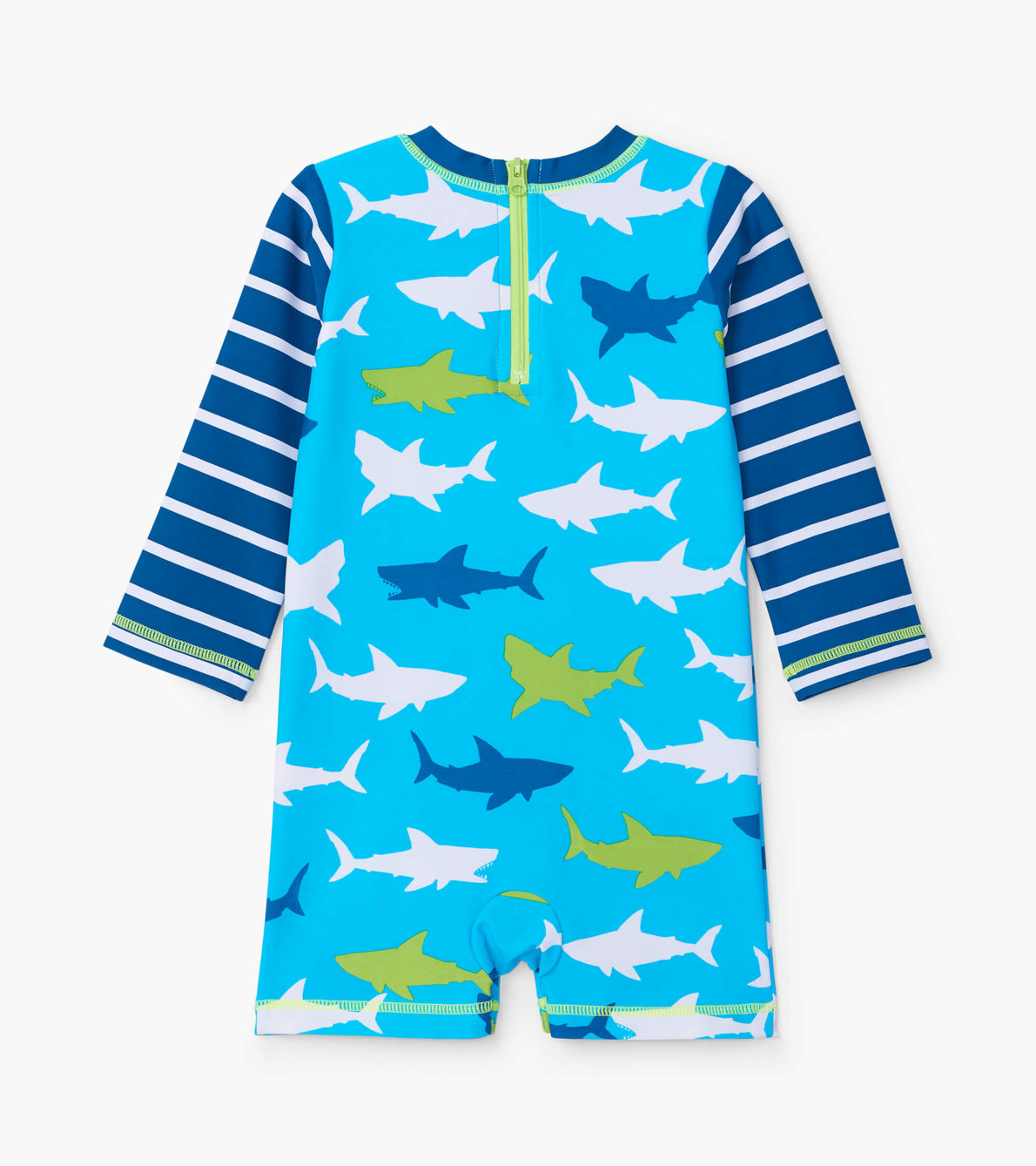 View larger image of Great White Sharks Baby Rashguard One-Piece