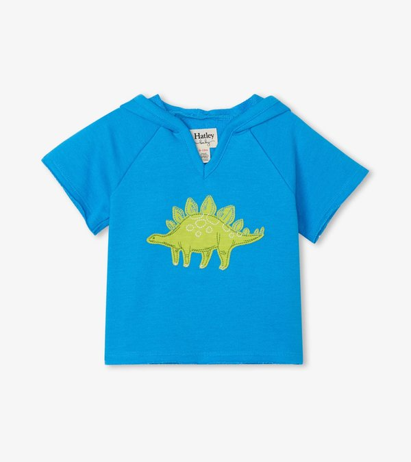 Green Dino Baby Pullover Hoodie