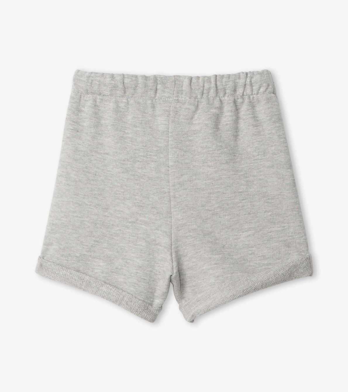View larger image of Grey French Terry Baby Shorts