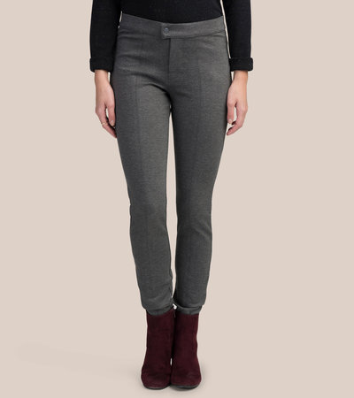 Grey Smart Skinny Pants