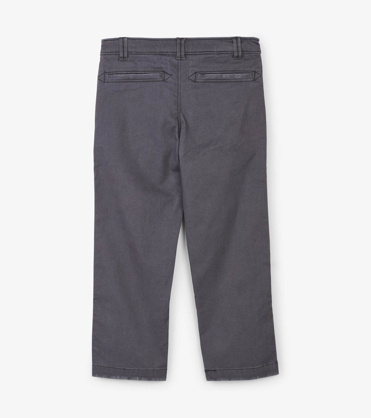 View larger image of Grey Stretch Twill Pants