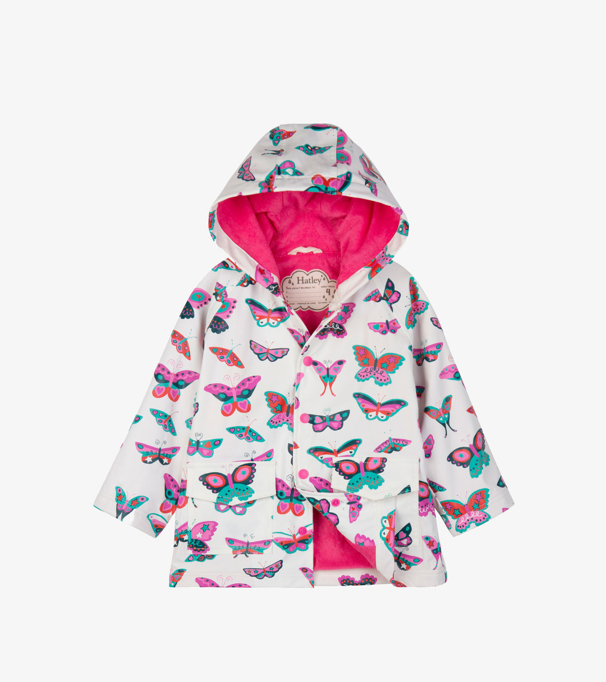 View larger image of Groovy Butterflies Raincoat