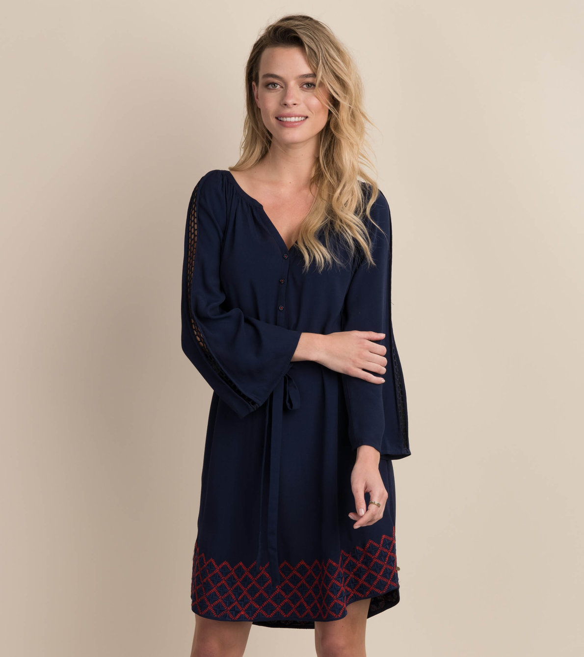 View larger image of Hayley Dress - Navy
