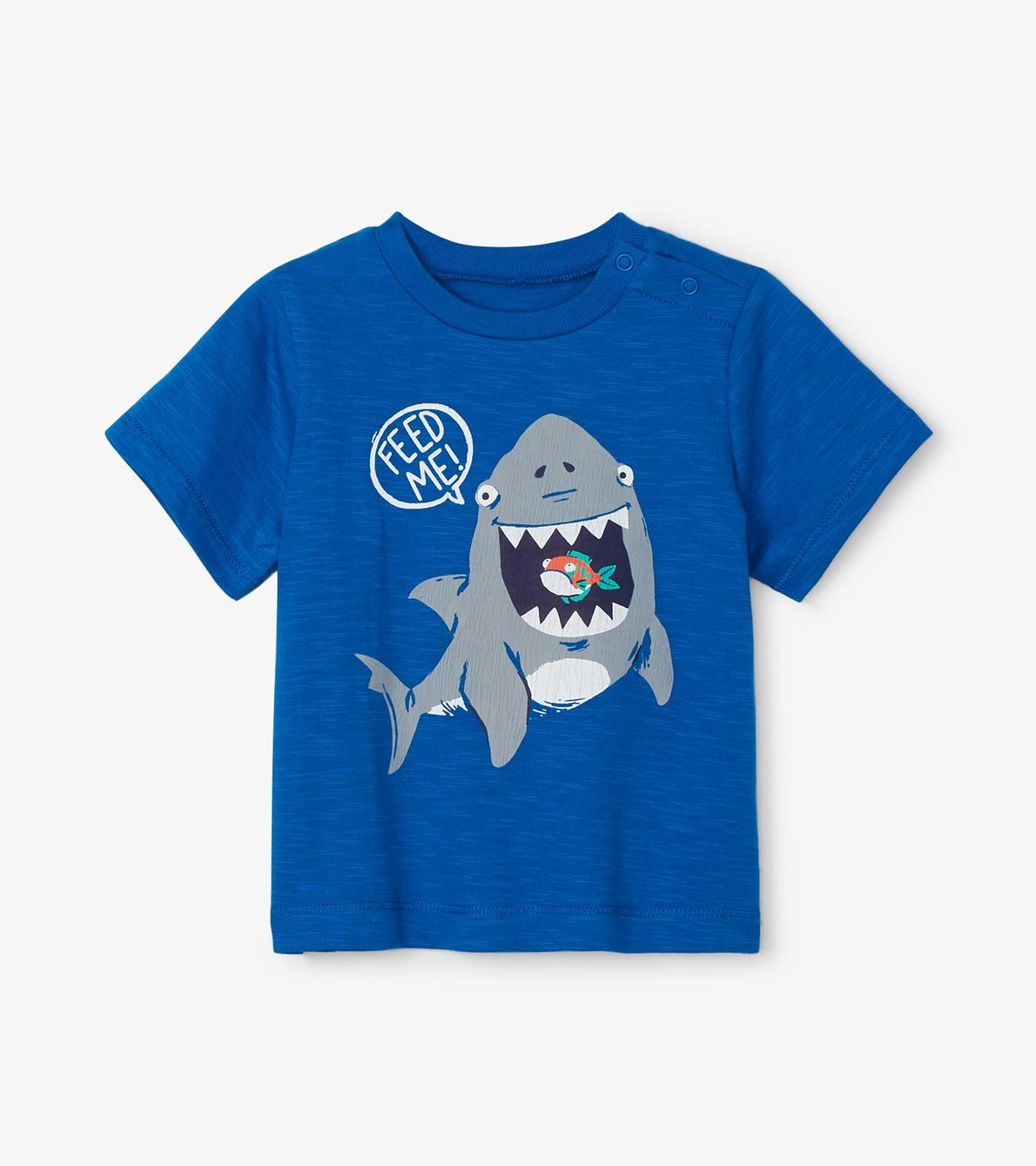View larger image of Hungry Shark Baby Graphic Tee