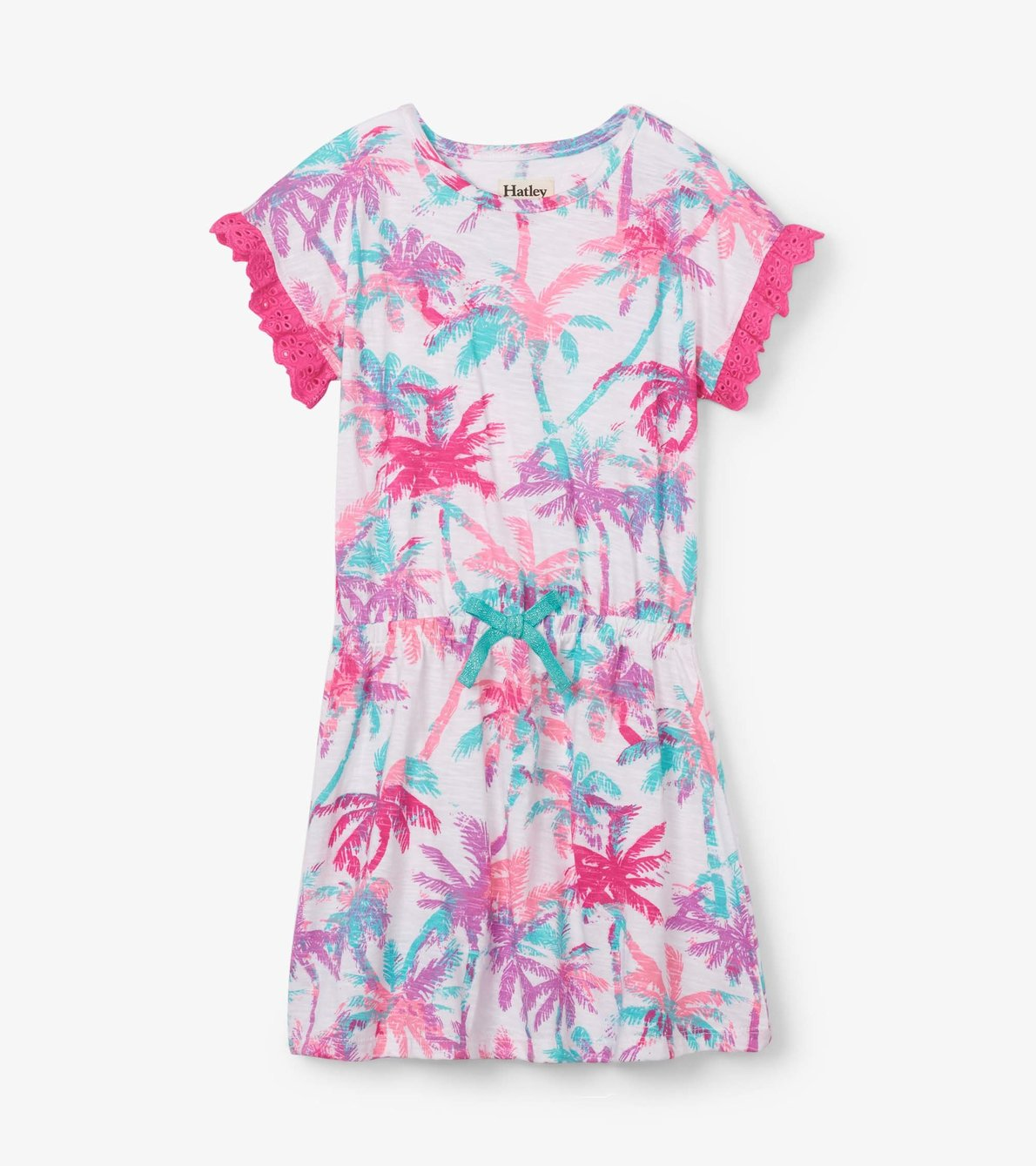 View larger image of Island Palms Cinched Waist Dress