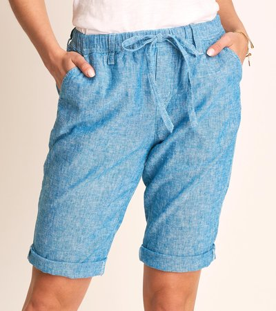 Jessie Shorts - Chambray