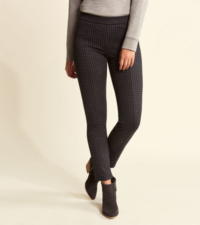 Kate Ponte Pants - Houndstooth
