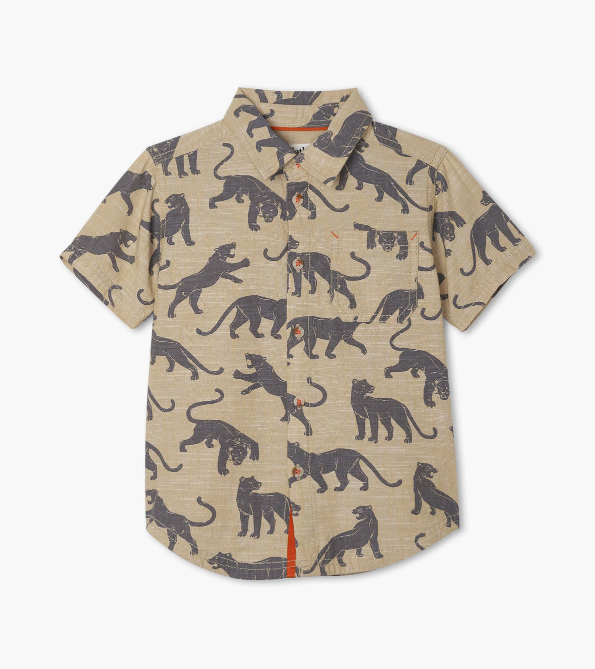 View larger image of Leopards Short Sleeve Button Down Shirt