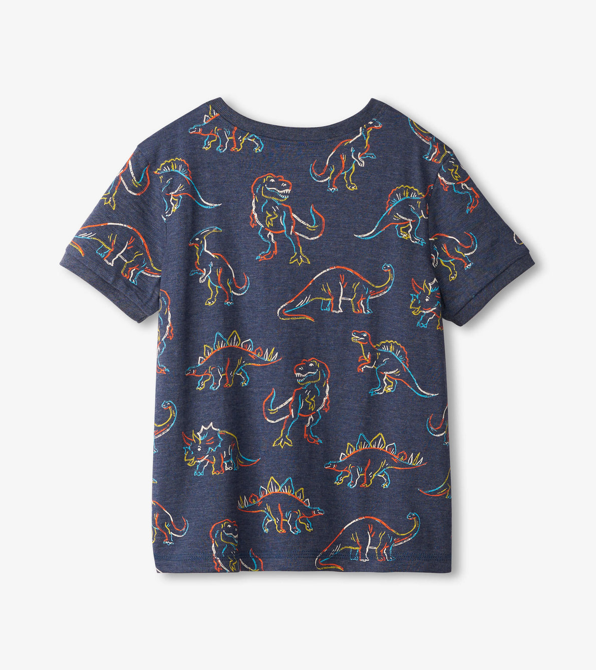 View larger image of Linework Dinos Henley Tee