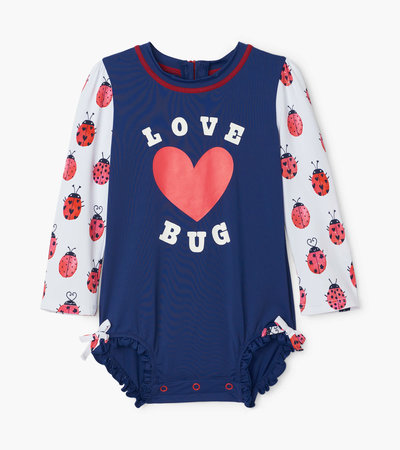 Love Bugs Baby Rashguard Swimsuit