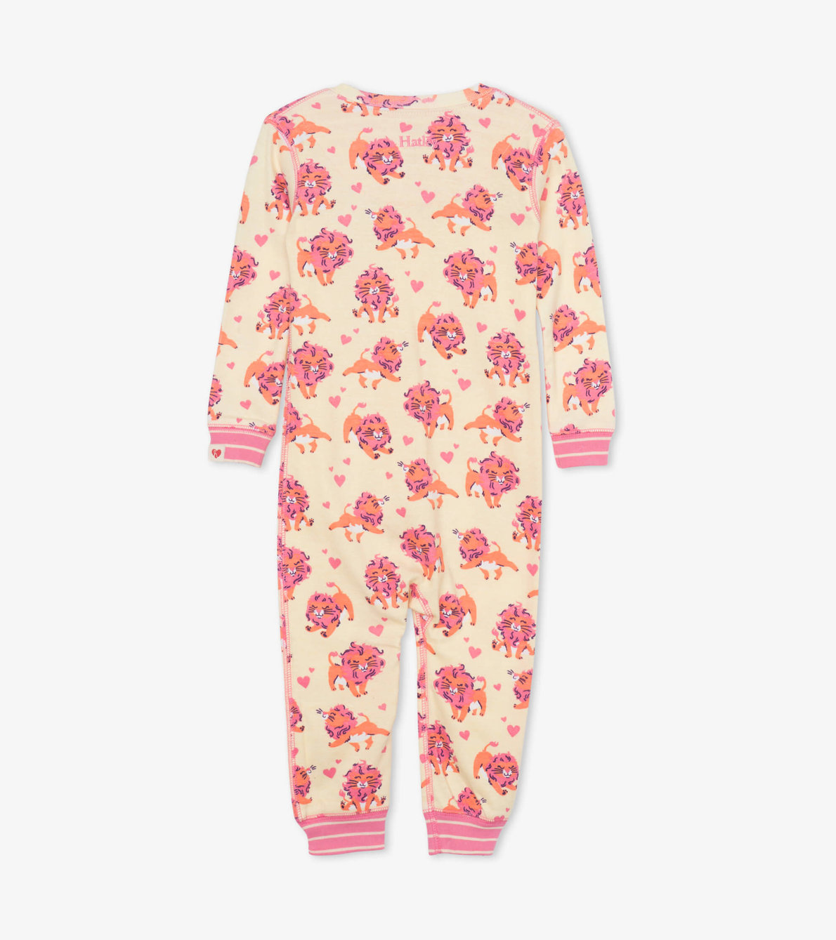 View larger image of Lovely Lions Organic Cotton Coverall