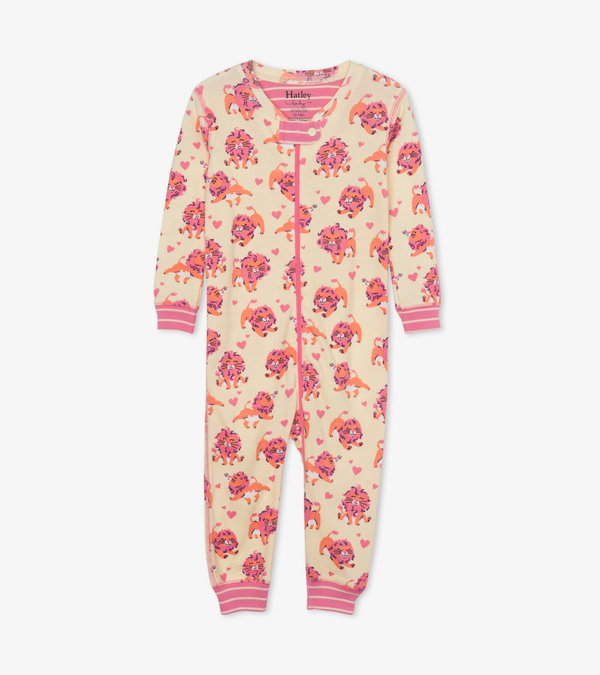 Lovely Lions Organic Cotton Coverall