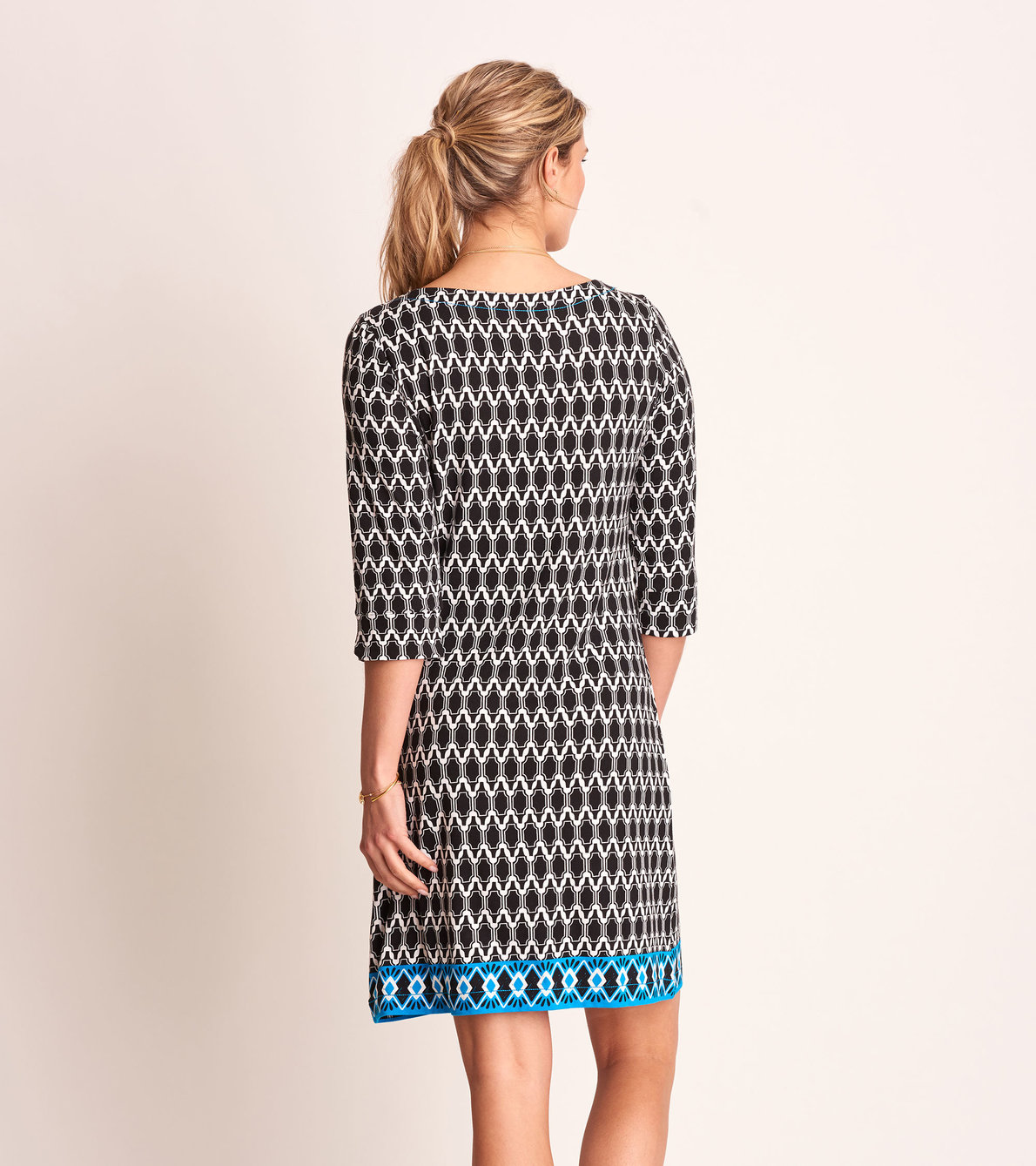 View larger image of Lucy Dress - Black Mosaic