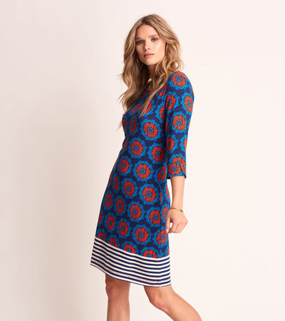 Lucy Dress - Painted Poppies