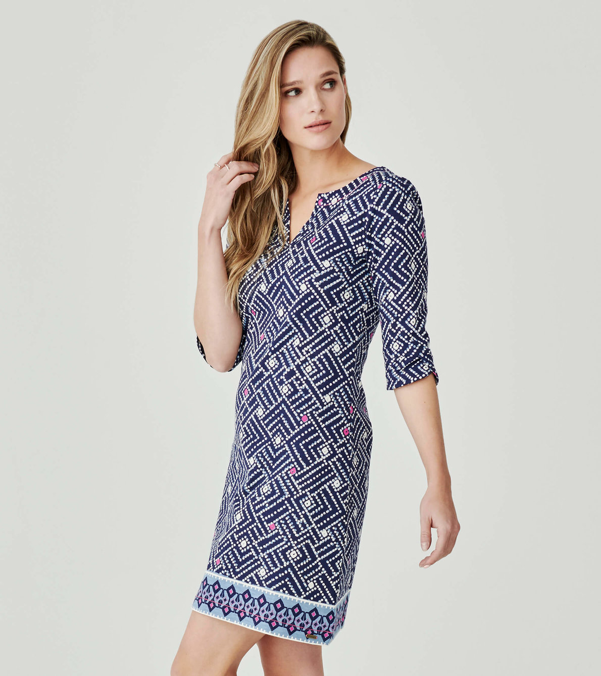 View larger image of Lucy Dress - Popped Ikat