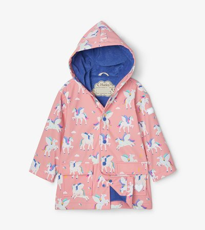 Magical Pegasus Colour Changing Raincoat