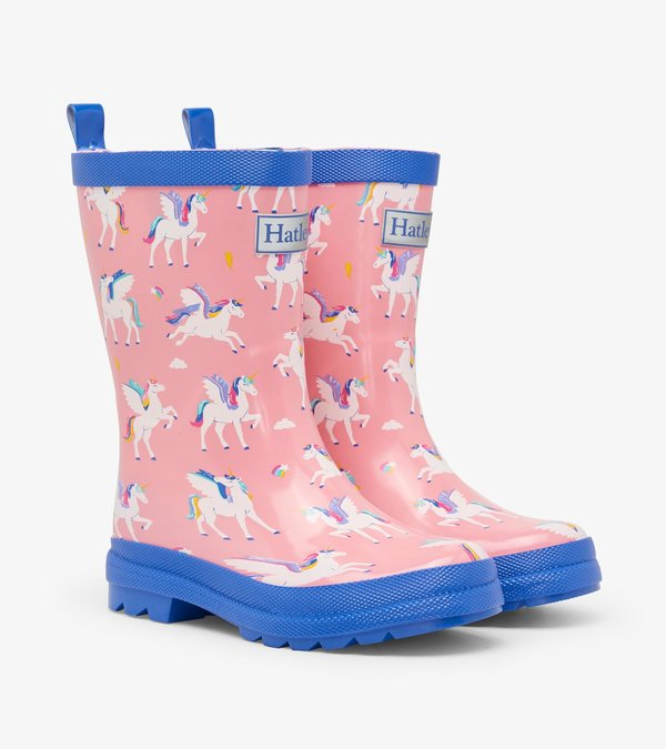 Magical Pegasus Shiny Rain Boots
