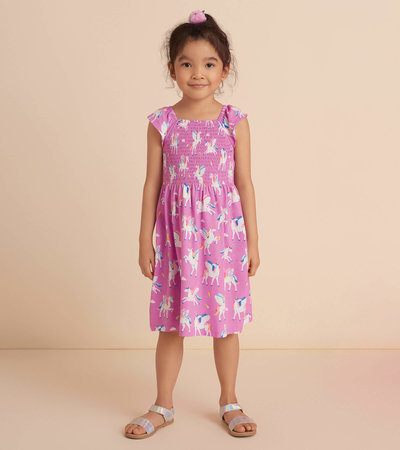Magical Pegasus Smocked Dress