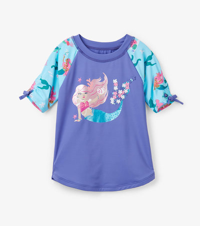 Mermaid Tales Short Sleeve Rashguard