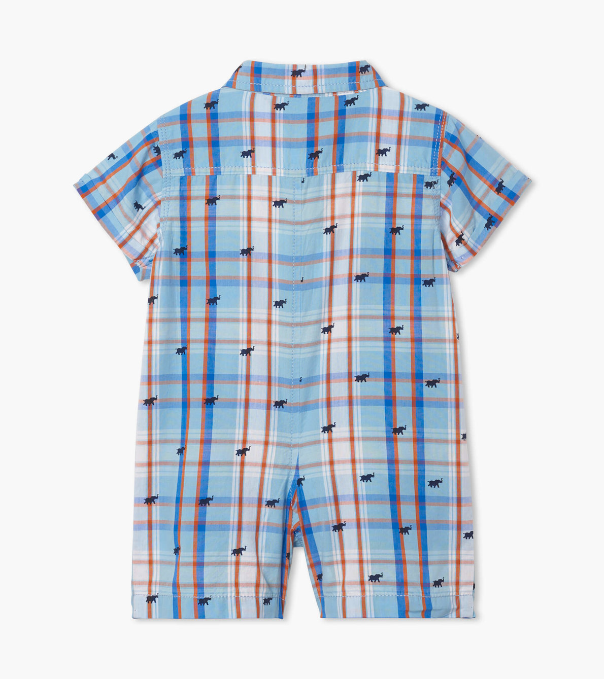 View larger image of Mini Elephants Baby Woven Romper