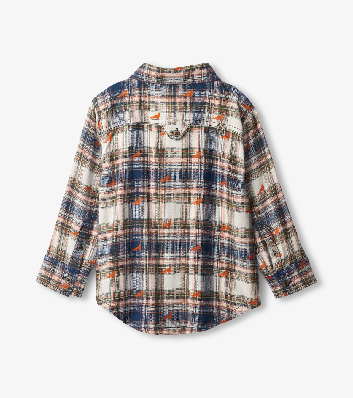 View larger image of Mini Foxes Button Down Shirt