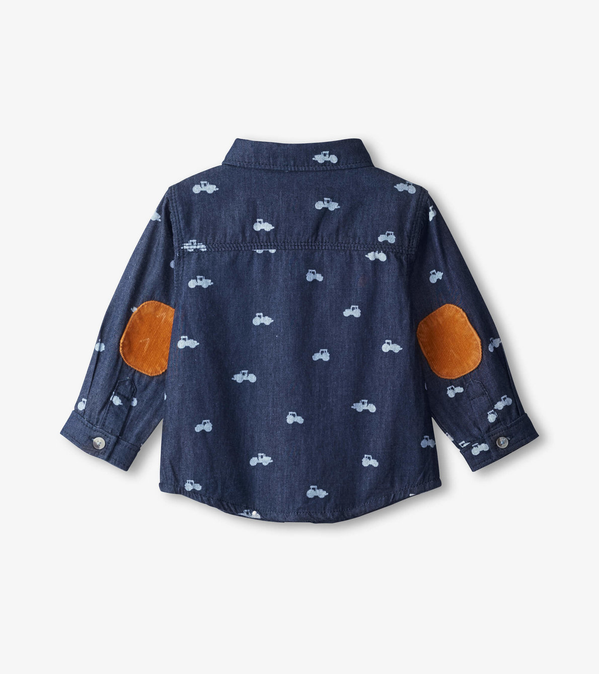 View larger image of Mini Tractors Baby Button Down Shirt