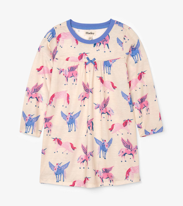 Mystical Unicorns Long Sleeve Nightdress