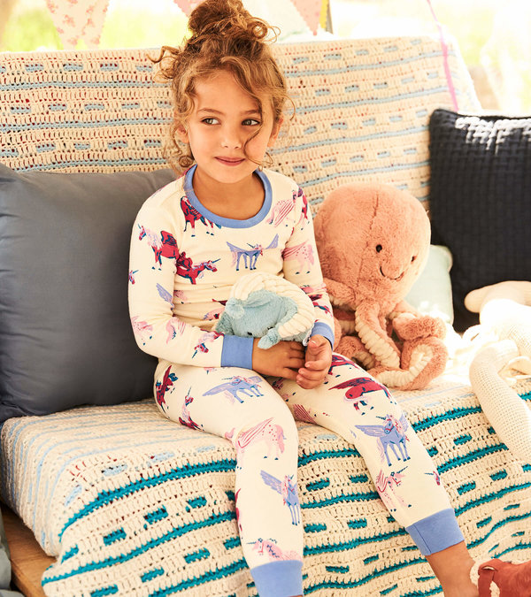 Mystical Unicorns Organic Cotton Pajama Set