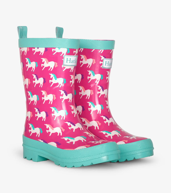 Mystical Unicorns Shiny Rain Boots