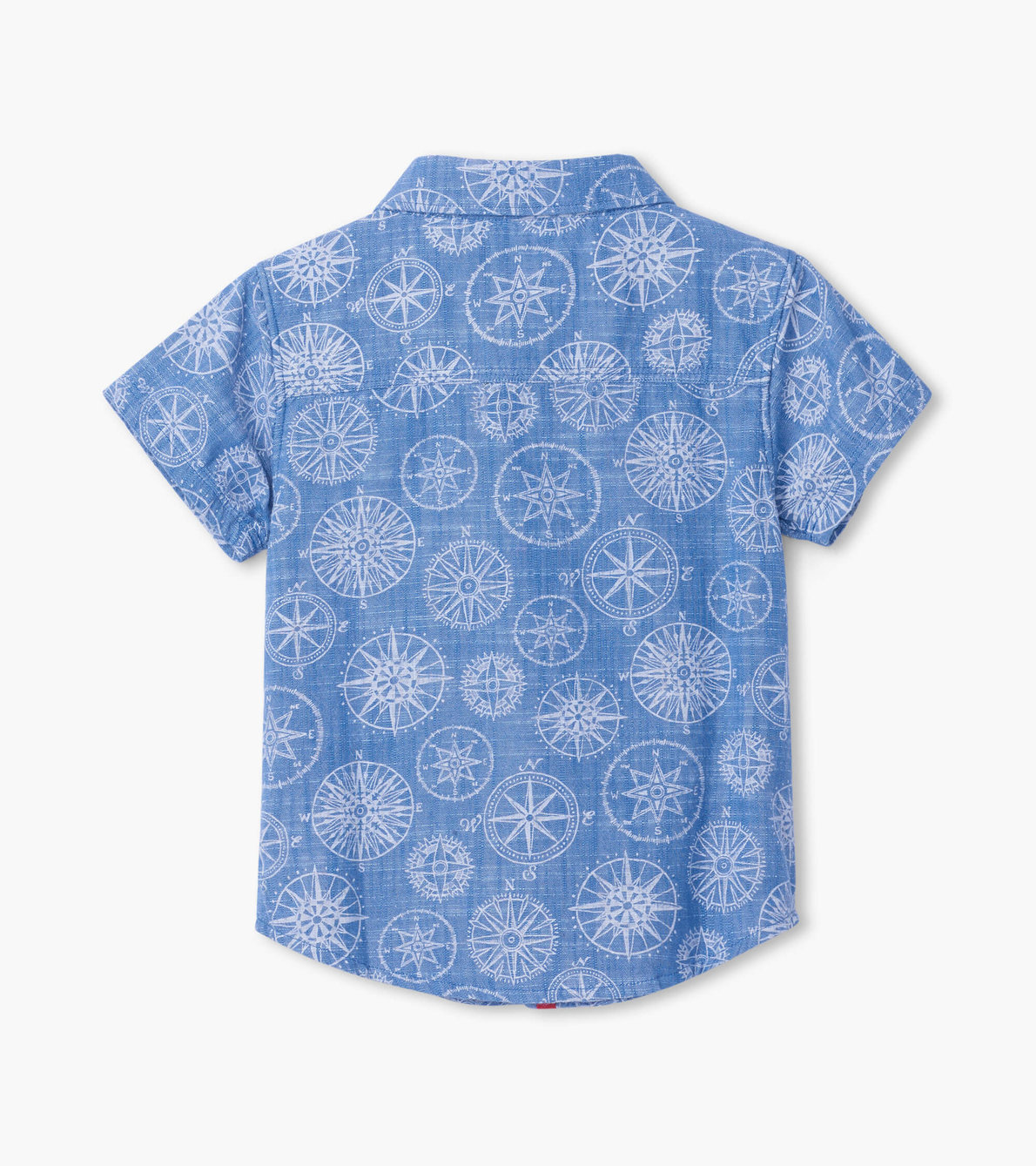 View larger image of Nautical Compass Baby Button Down Shirt