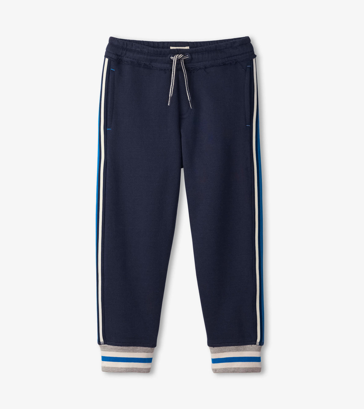 View larger image of Navy Side Stripe Joggers
