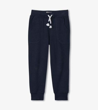 Navy Slim Fit Joggers
